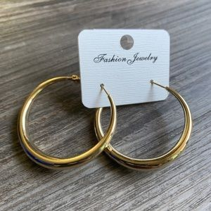 Vain Accessories Jewelry - Fashion Hoop Earrings